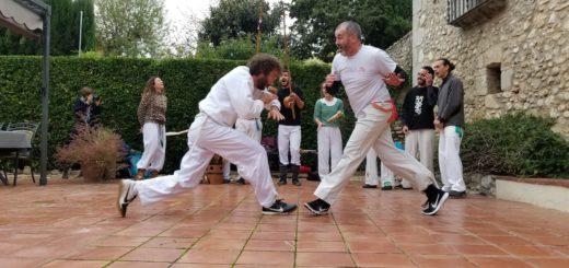 Roda de Capoeira Canigó al Restaurant lasal de Ventalló